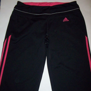 ADIDAS Climalite Workout Pants Sz M UK 12-14 Women